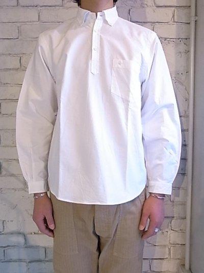 画像2: SUNSHINE+CLOUD オックスフォードスリップオンシャツ