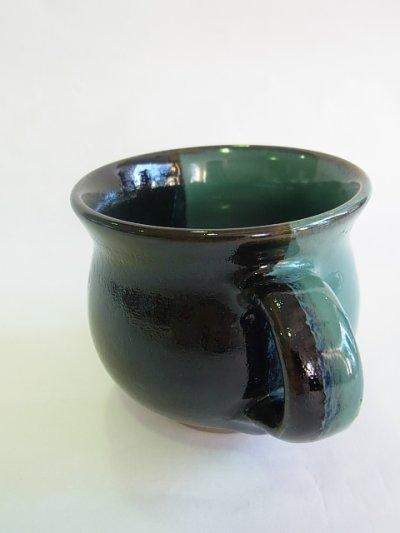 画像1: 牛ノ戸焼 染分モーニングカップ