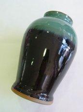 画像4: 牛ノ戸焼 染分花瓶 (中) (4)