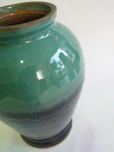 画像2: 牛ノ戸焼 染分花瓶 (中)