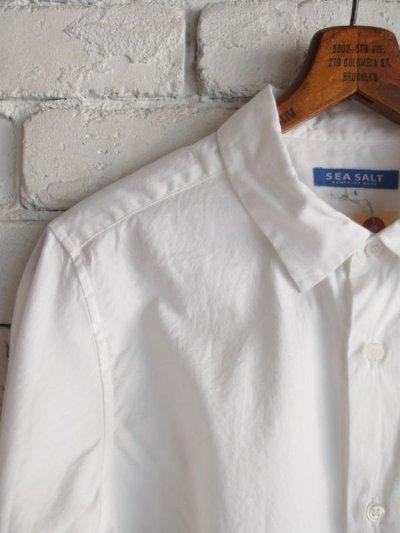 画像1: SEA SALT  (レディース) レギュラーカラーシャツ