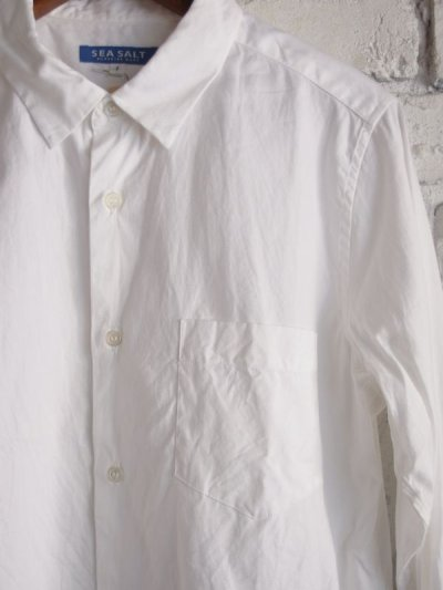 画像2: SEA SALT  (レディース) レギュラーカラーシャツ