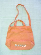 画像1: grown in the sun NEW MARKET BAG MANGO (1)