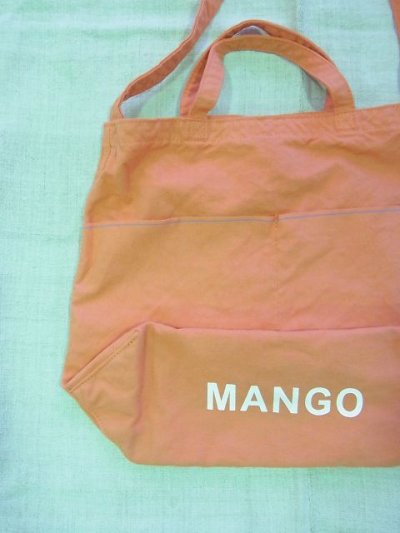 画像2: grown in the sun NEW MARKET BAG MANGO