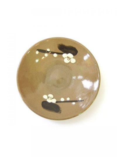 画像1: 牛ノ戸焼 梅皿 (4寸)