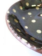 画像4: 山根窯 灰釉スリップウェア大鉢 (4)