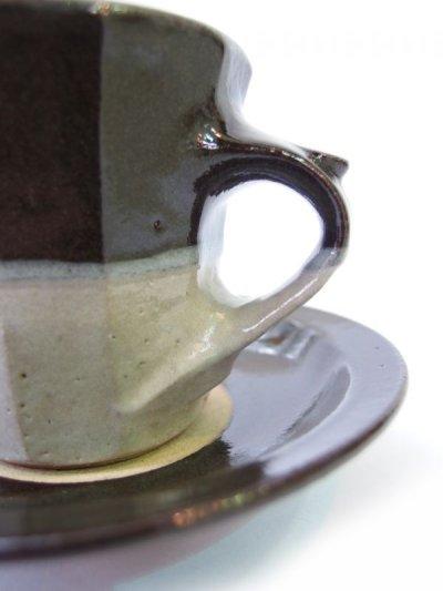 画像3: 山根窯 面取コーヒーカップ