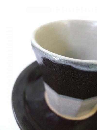 画像2: 山根窯 面取コーヒーカップ