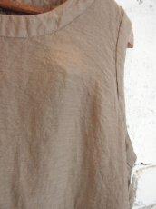 画像4: ●SEA SALT  ボタニカルダイコットンシルクドレス (4)