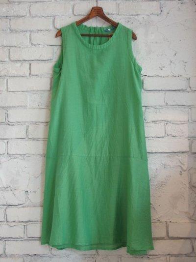 画像1: ●SEA SALT  ボタニカルダイコットンシルクドレス