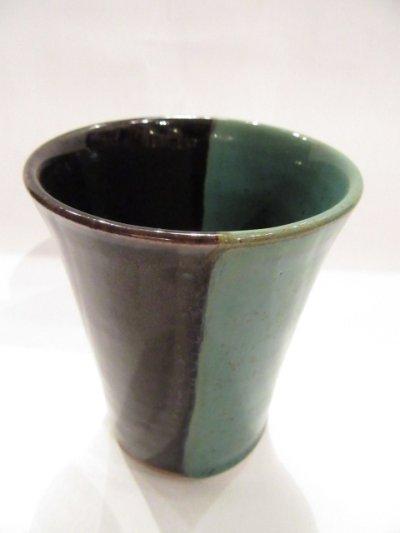 画像1: 牛ノ戸焼 染分フリーカップ