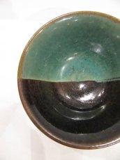 画像3: 牛ノ戸焼 染分飯茶碗 (3)