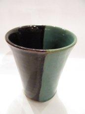 画像2: 牛ノ戸焼 染分フリーカップ (2)