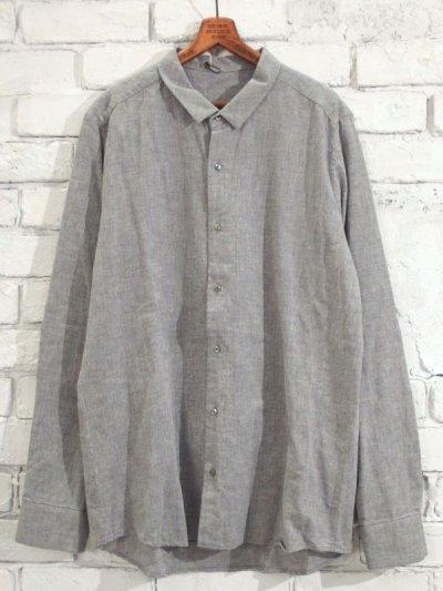 画像1: F/style 【メンズ】ベーシックシャツ/亀田縞