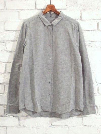 画像1: F/style ベーシックシャツ/亀田縞