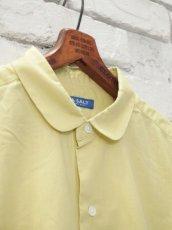 画像5: ●SEA SALT  ボタニカルコットン ラウンドカラーロングシャツ (5)