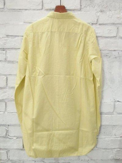 画像3: ●SEA SALT  ボタニカルコットン ラウンドカラーロングシャツ
