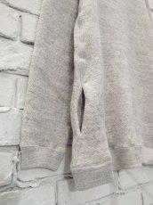 画像3: ●SEA SALT  吊り編み裏毛 スウェット (3)