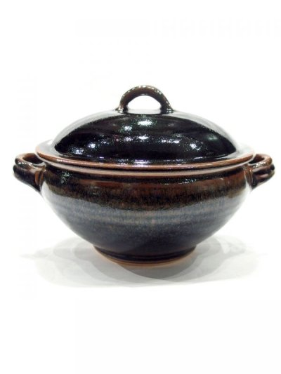 画像1: 出西窯 饅頭蒸し器(大)