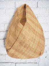 画像1: F/style シナ布の手さげ袋 (1)