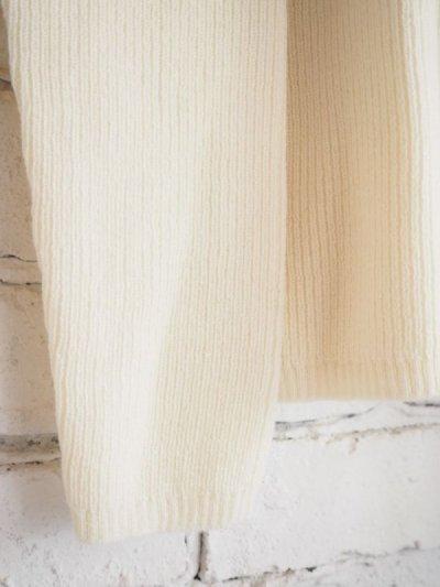 画像2: F/style ホールガーメントのリブ編みウールニット/丸首