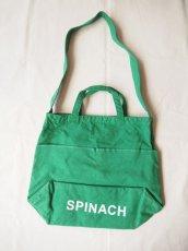 画像1: ●grown in the sun マーケットバッグ SPINACH (1)