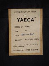 画像6: YAECA 【WOMEN'S】(67652) ワイドテーパードチノ (6)