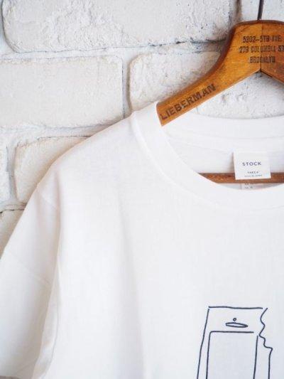 画像3: YAECA 【WOMEN'S】 (88008) プリントTシャツ ICE CREAM