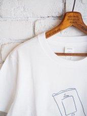 画像3: YAECA 【WOMEN'S】 (88007) プリントTシャツ CHIPS (3)