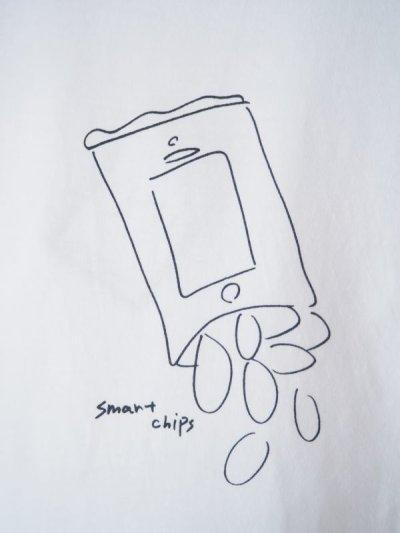 画像2: YAECA 【WOMEN'S】 (88007) プリントTシャツ CHIPS