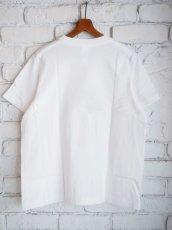 画像4: YAECA 【WOMEN'S】 (88007) プリントTシャツ CHIPS (4)