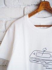 画像3: YAECA 【WOMEN'S】 (88009) プリントTシャツ SANDWICH (3)