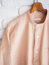 画像2: COMOLI バンドカラーシャツ (2)
