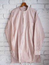 画像1: COMOLI バンドカラーシャツ (1)