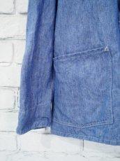 画像3: COMOLI シャンブレ―1938ジャケット (3)