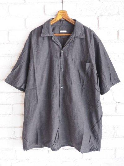 画像1: COMOLI ベタシャンオープンカラーシャツ