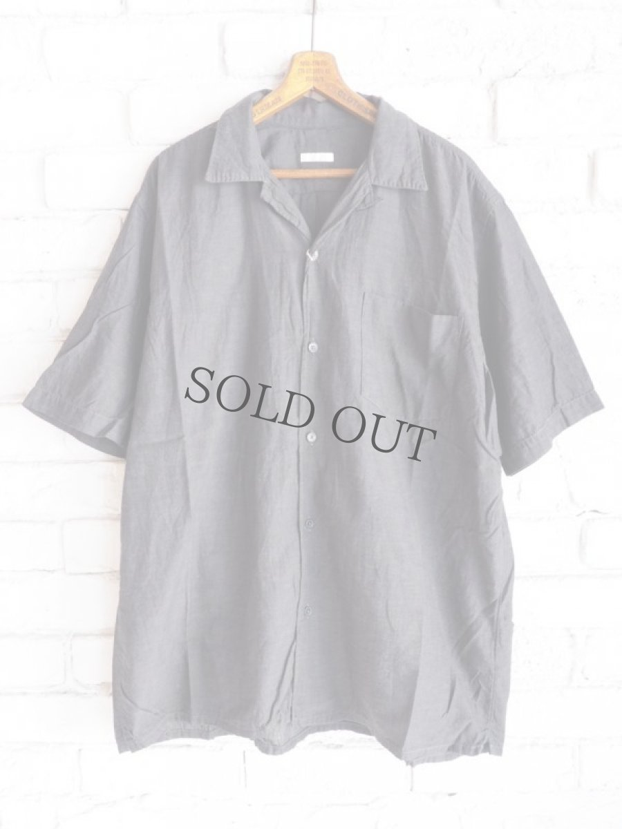 画像1: COMOLI ベタシャンオープンカラーシャツ (1)