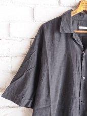 画像2: COMOLI ベタシャンオープンカラーシャツ (2)
