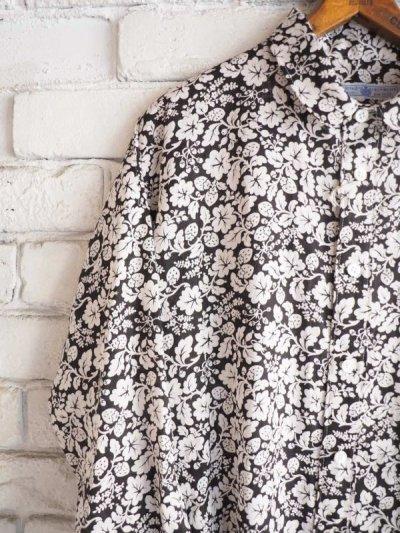 画像2: R&D.M.Co- / OLDMAN'S TAILOR ハンドプリントロングシャツ