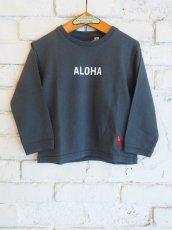 """画像1: ●grown in the sun キッズ L/S Tシャツ """"ALOHA-MAHALO"""" (1)"""