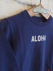 """画像2: ●grown in the sun キッズ L/S Tシャツ """"ALOHA-MAHALO"""" (2)"""