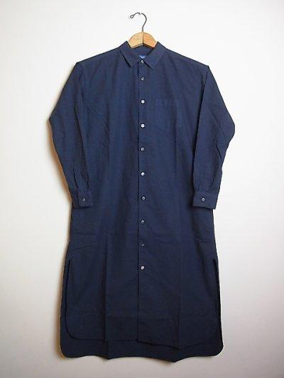 画像1: ●SEA SALT  ロングシャツドレス