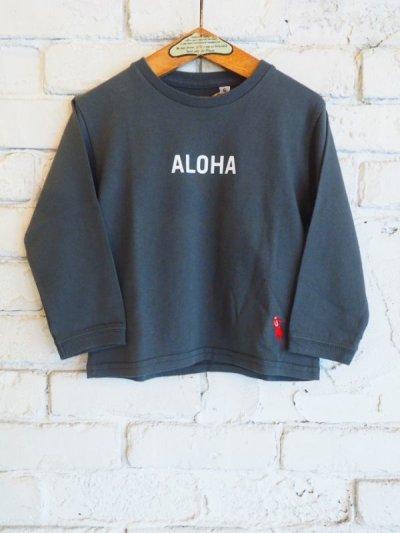 """画像1: ●grown in the sun キッズ L/S Tシャツ """"ALOHA-MAHALO"""""""