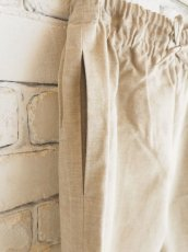 画像2: ● F/style 亀田縞のワイドパンツ(薄地) (2)