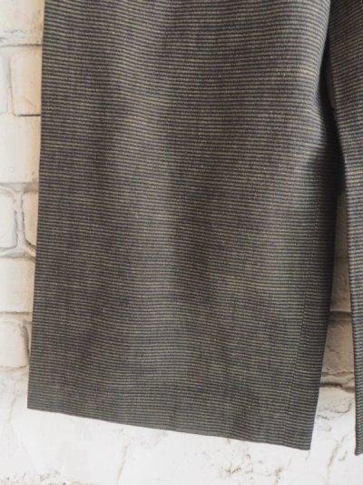 画像3: ● F/style 亀田縞のワイドパンツ(厚地)