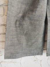 画像3: ● F/style 亀田縞のワイドパンツ(厚地) (3)