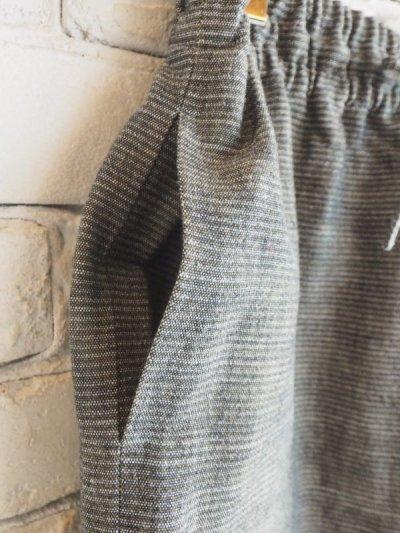 画像2: ● F/style 亀田縞のワイドパンツ(厚地)