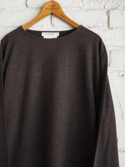 画像2: YAECA CONTEMPO L/S Tシャツ