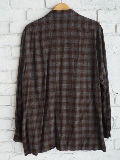 画像3: COMOLI レーヨンオープンカラーシャツ