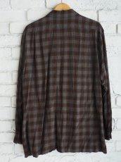 画像4: COMOLI レーヨンオープンカラーシャツ (4)